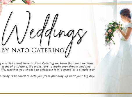 Celebrate Love with NATO Catering