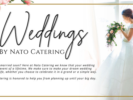 Celebrate Love with NATO Catering
