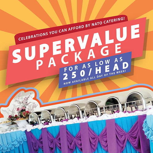 Super Value Catering Packages
