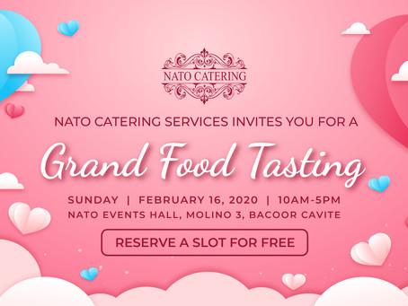 GRAND FOOD TASTING EVENT