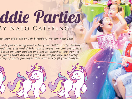 KIDDIE PARTY FOR YOUR LITTLE KID!