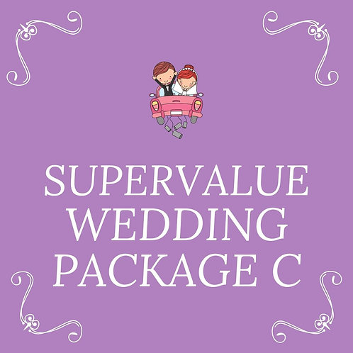 SUPER VALUE WEDDING PACKAGES FOR 65 PAX