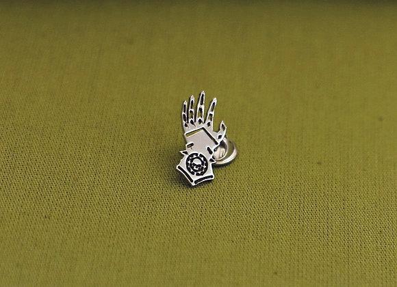 Iron Hands pin