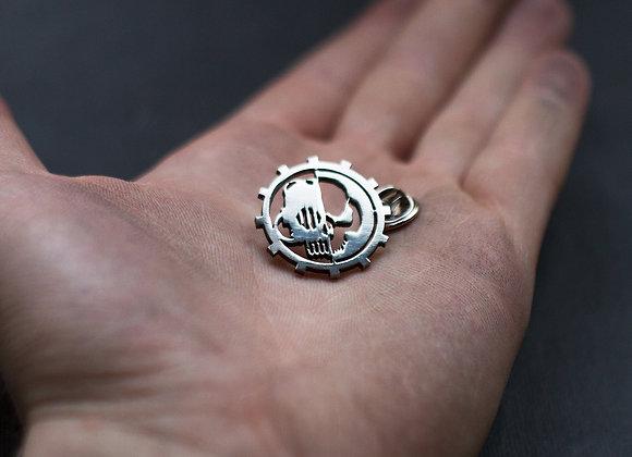 Adeptus Mechanicus pin