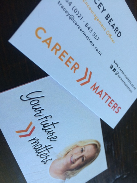 Career matters business card