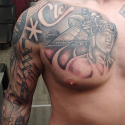 Cleveland chest panel and some filler st