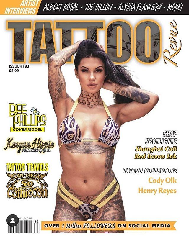 The brand new Tattoo Revue Magazine (Iss