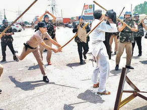 Police Lathi-Charge On Protesting Farmers At Haryana, SKM Seeks Resignation Of CM