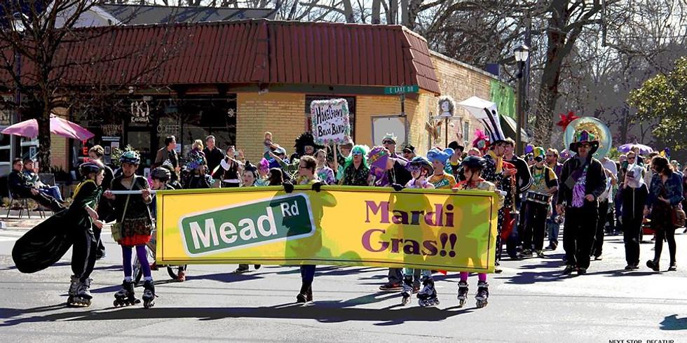 WRC Krewe for Mead Rd Mardi Gras