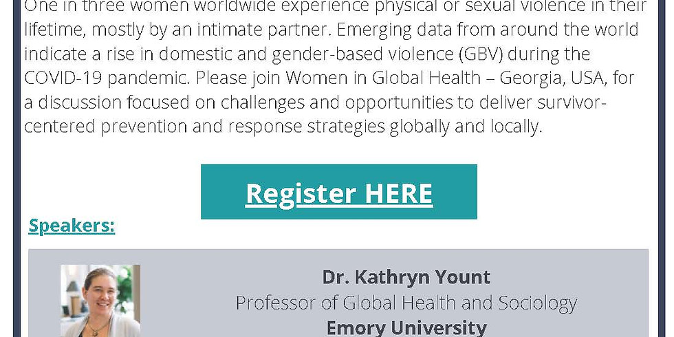 Addressing Gender-Based Violence During the COVID-19 Pandemic: Emerging Risks and Solutions