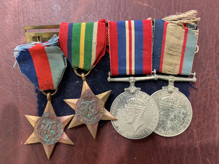 Medal Cleaning | Before and After - Befo