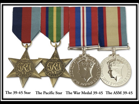 Why do I need a set of replica military medals?