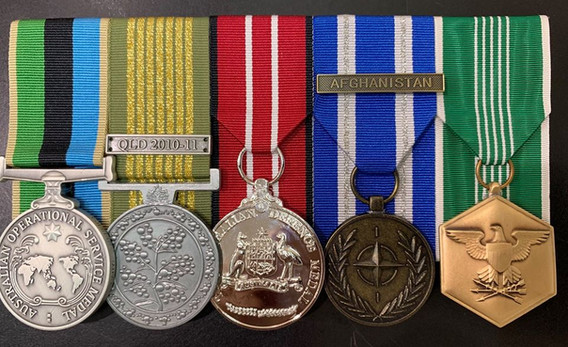 The Australian Army Medals