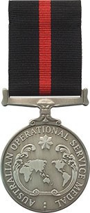 Special Operations Australia Operational Service Medal