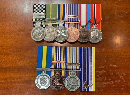 Replica Court Mounted Police Medals