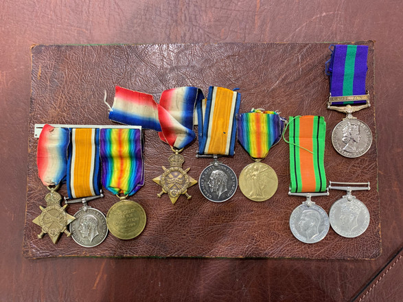 After Medal Ribbon Replacement | National Medals