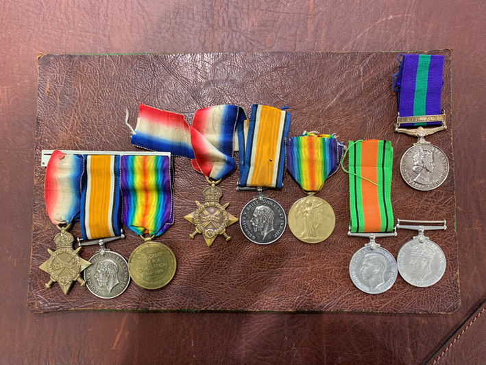 After Medal Ribbon Replacement   National Medals