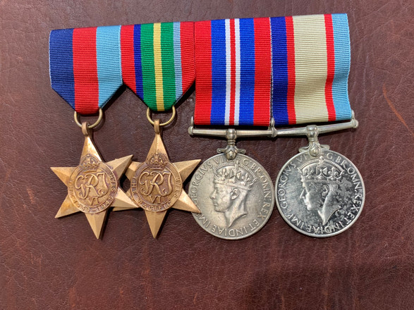 Medal Cleaning | Before and After - Afte