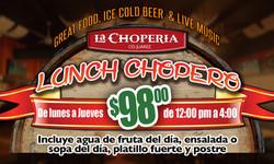 Lunch Chopero La Chopería