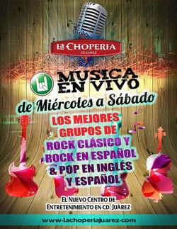 Música en Vivo La Choperia