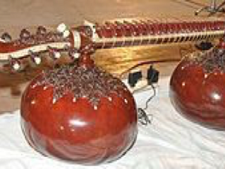 Dhrupad and Musical Instruments