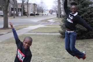 Ezra and Zawadi #YoungAndAmbitious