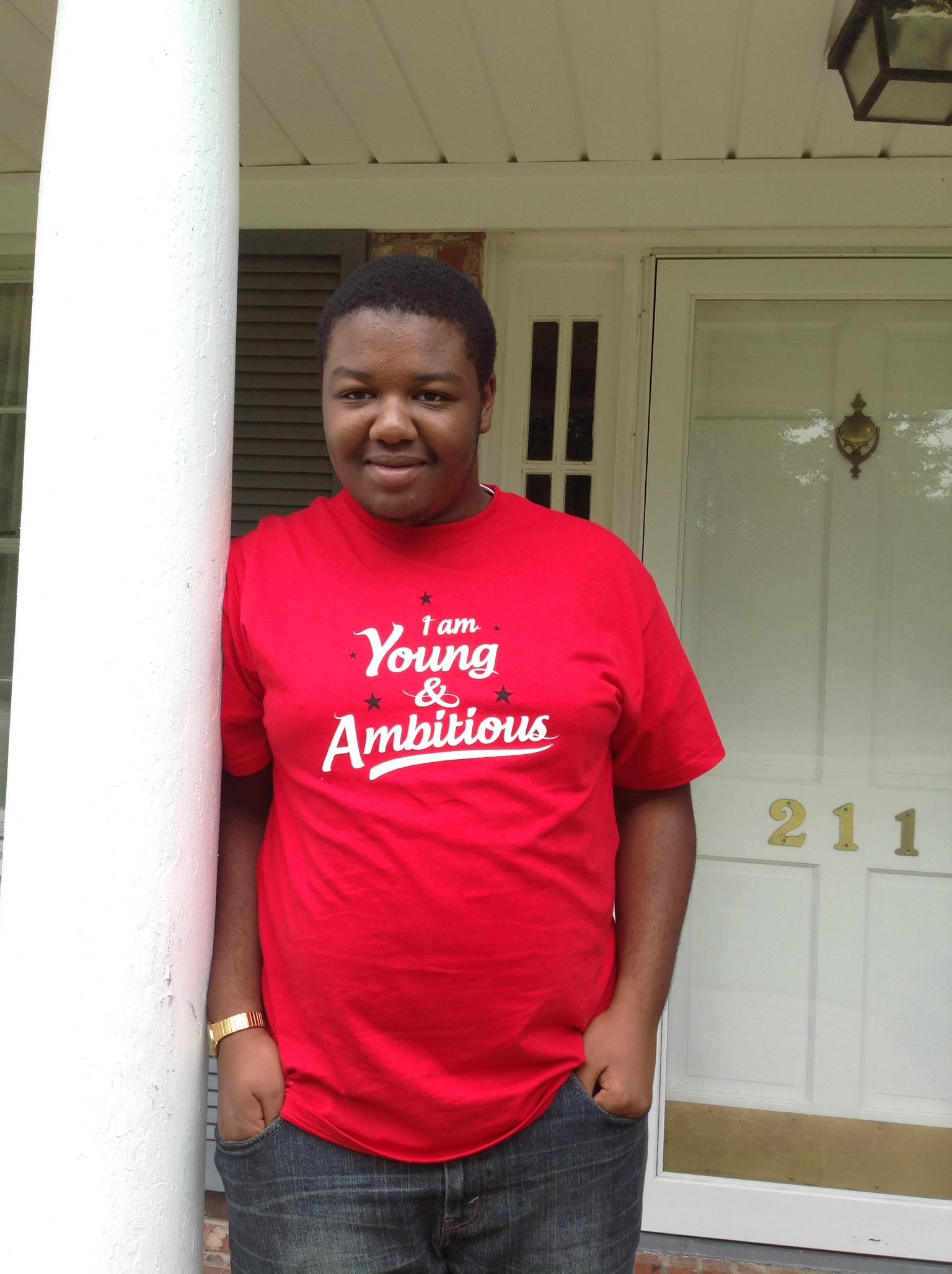 Joshua is SC is #YoungAndAmbitious