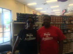 Mother & son in SC #YoungAndAmbitiou