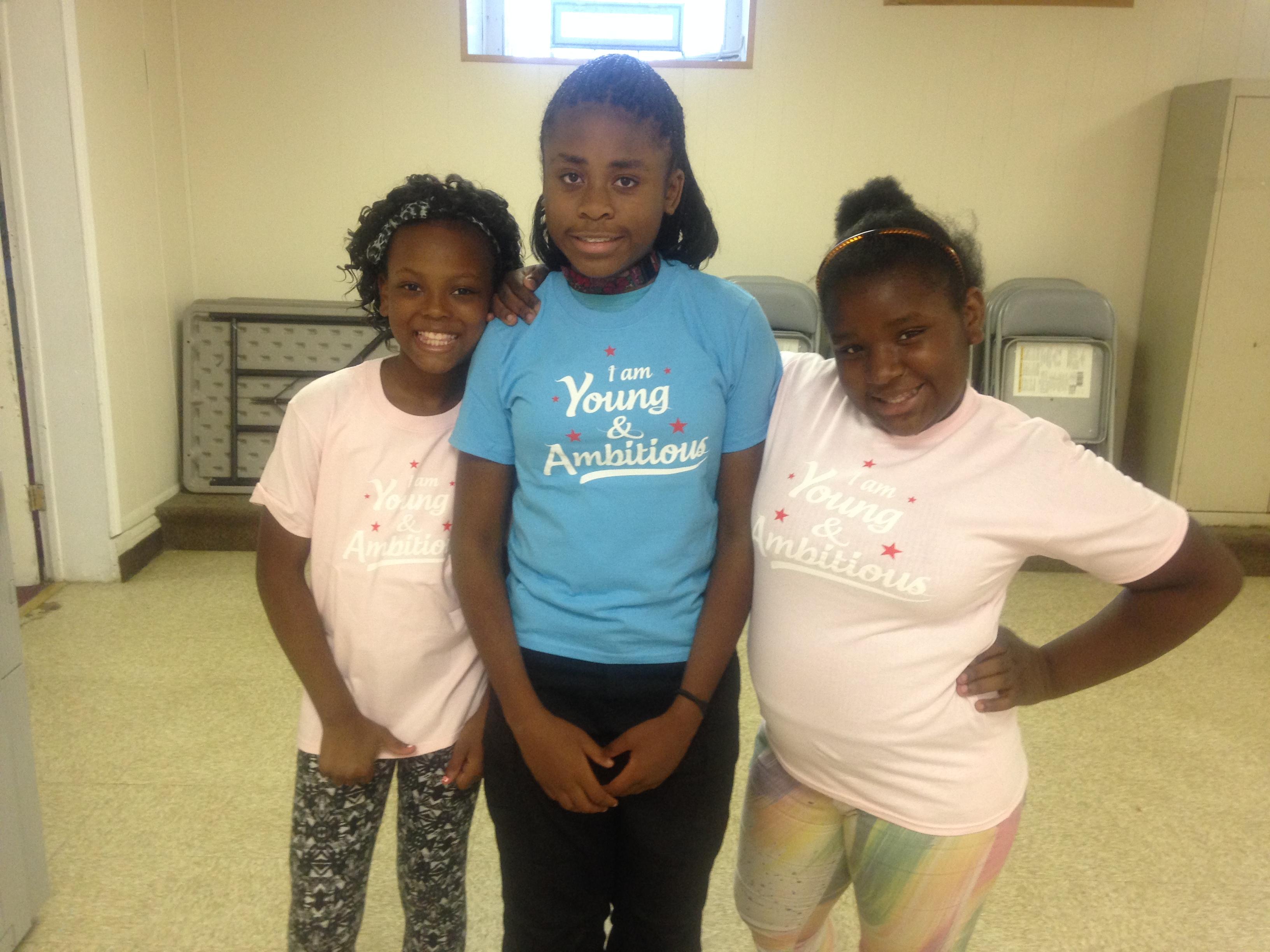 Keyonna, Nevaeh & Jamilia