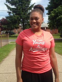 Jasmine is #YoungAndAmbitious