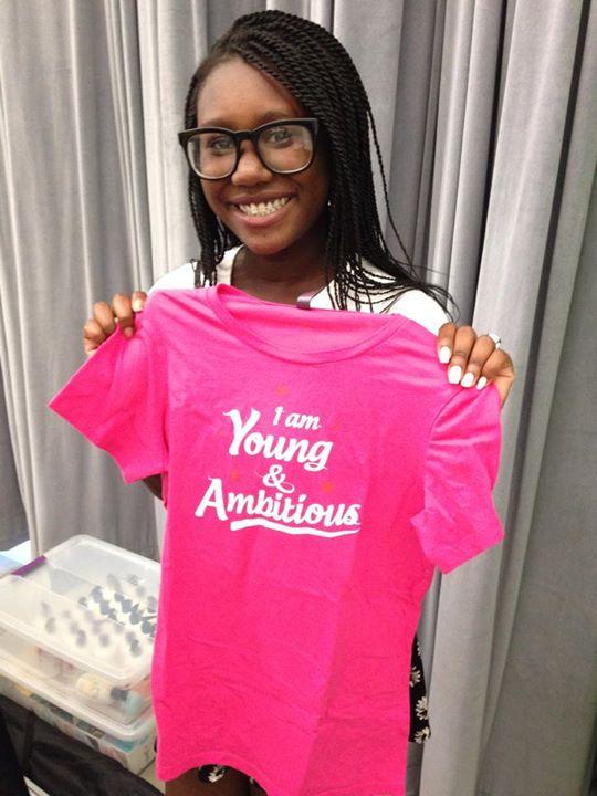Zandra Is #YoungAndAmbitious