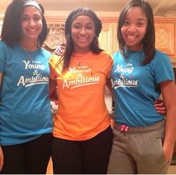 Courtney, Tatiana and Danita