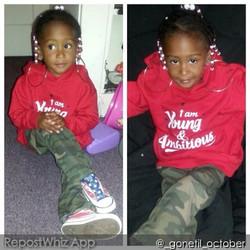 Destiny is #YoungAndAmbitious