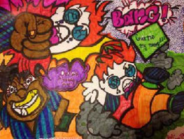 Picture drawn by Jamirra Bryant