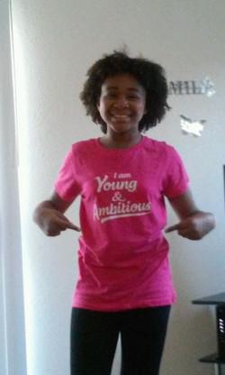 Morgan in California #YoungAndAmbiti