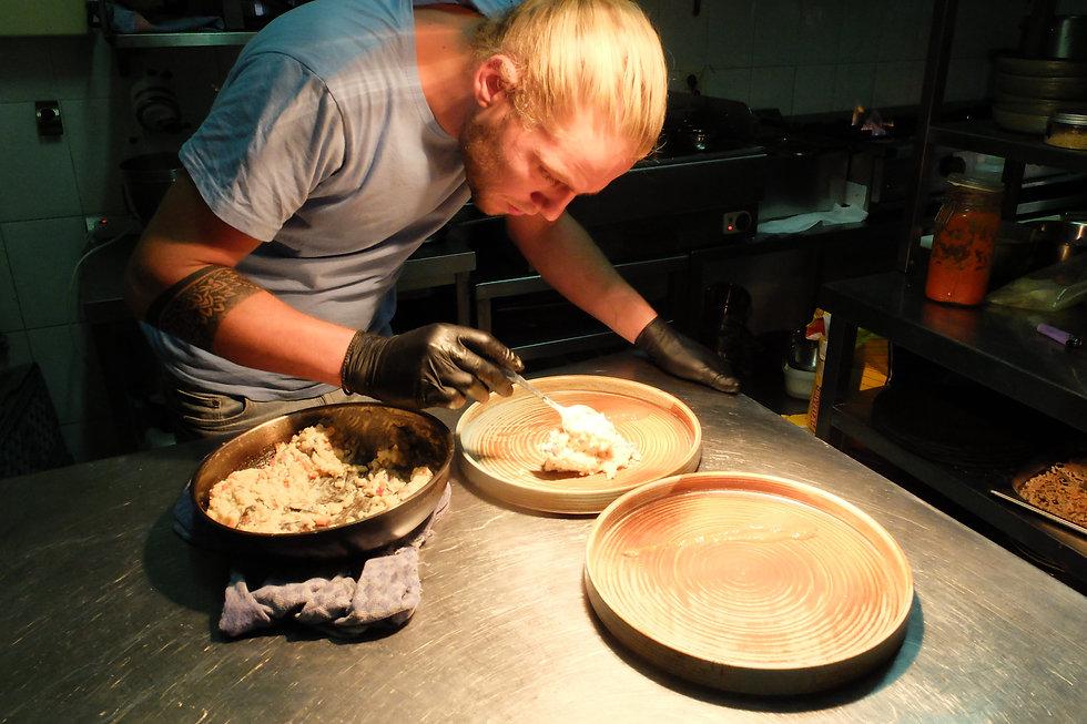 chefkoch Conelis am kochen