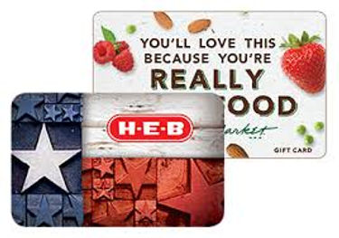 $100 HEB Gift card