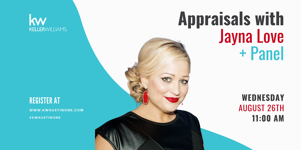 Appraisals with Jayna Love & Panel