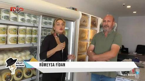 TV 8 İNT ANLAT PATRON Rümaysa Fidan - Röportajı Tuncer Diken