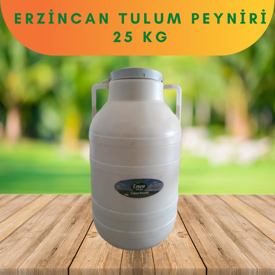 Erzincan Tulum Peyniri 25 kg
