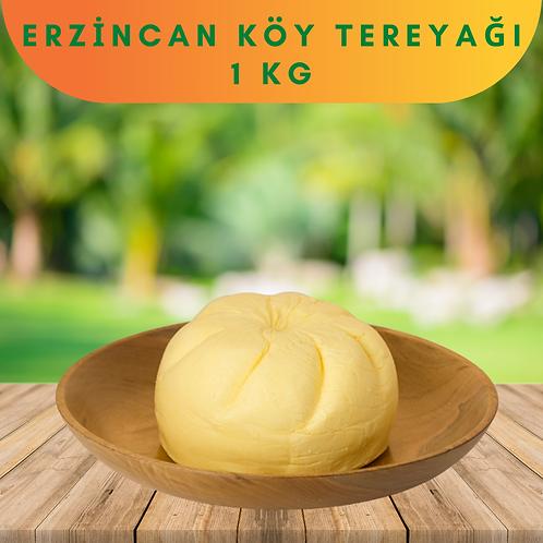 Erzincan Köy Tereyağı Kahvaltılık 1 Kg