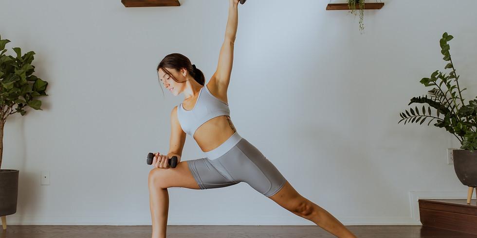 *LIVE* CLASS: Yoga Sculpt Full Body Tone with Missy