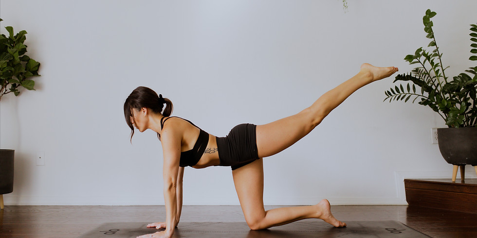 *LIVE* CLASS: Yoga Sculpt Booty Blast with Missy
