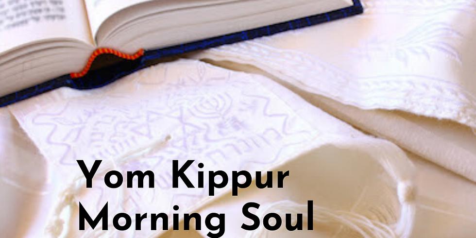 Yom Kippur Morning Family Soul Workshop and Yizkor
