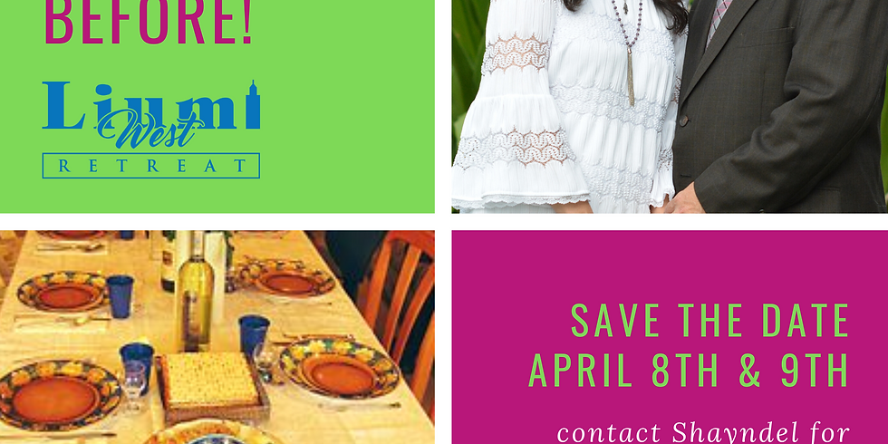 Save the Date- A Passover Like Never Before