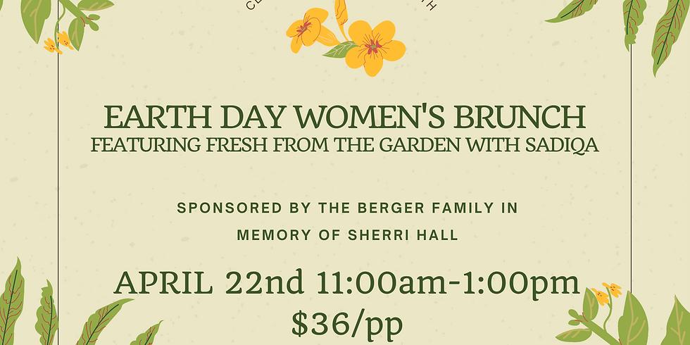 Earth Day Women's Brunch