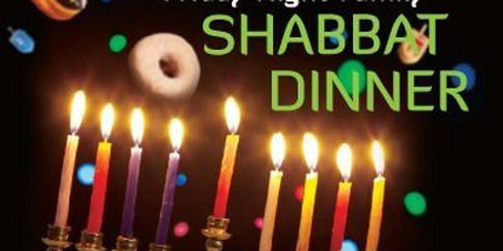 Hannukah Shabbos Dinner