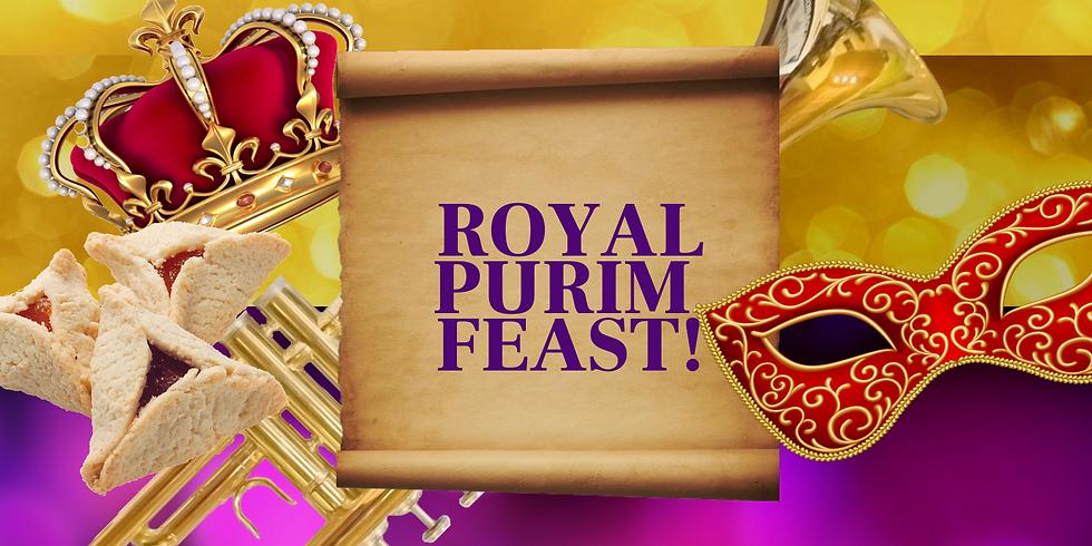 Royal Purim Feast