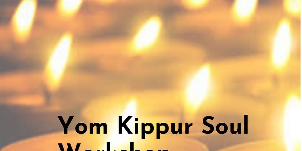 Yom Kippur Kol Nidre Family Soul Workshop