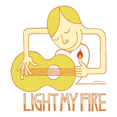 "V.A. / Tuff Beats Presents ""Light My Fire""  (CD) / UBCA-1024"